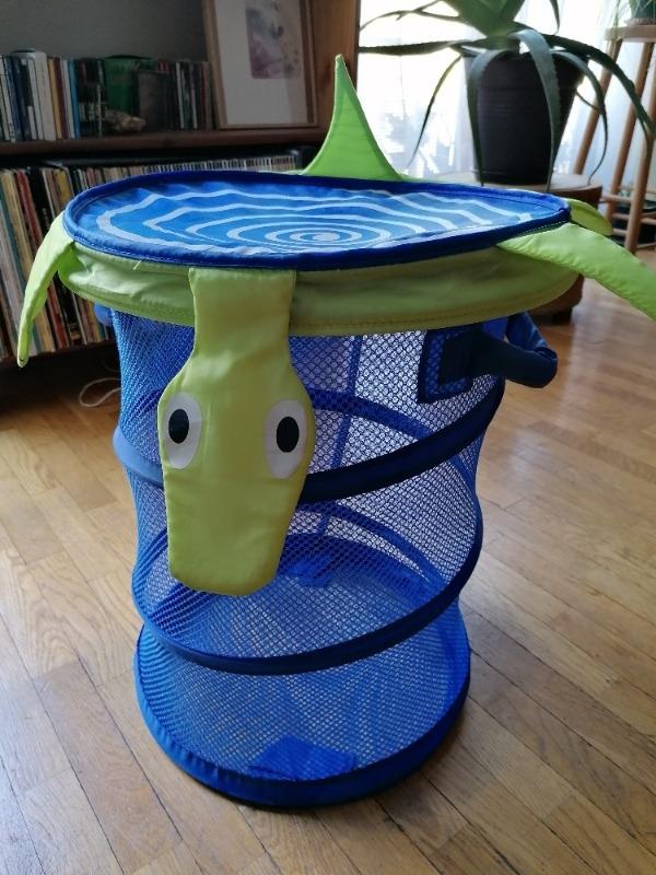 Recyclage, Récupe & Don d'objet : panière à linge enfant