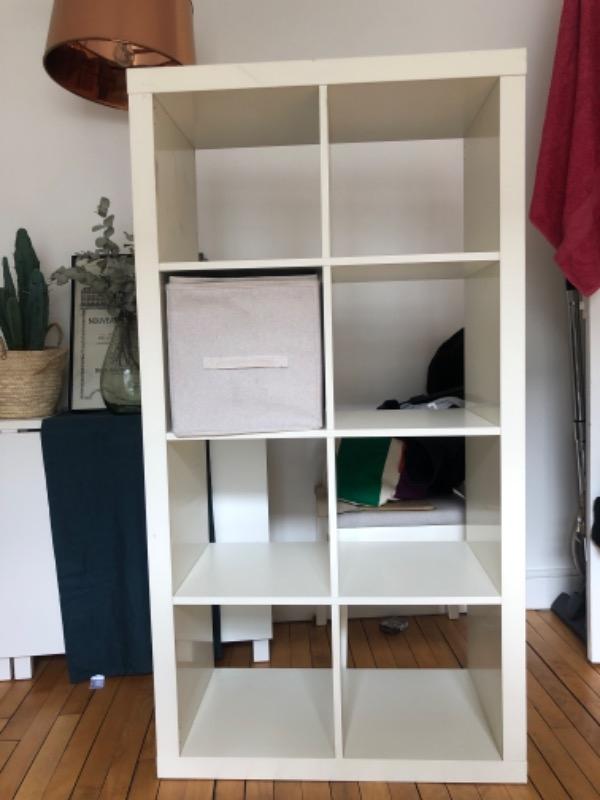 Recyclage, Récupe & Don d'objet : double étagère ikea