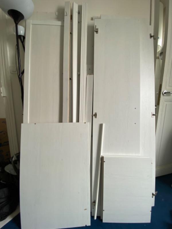 Recyclage, Récupe & Don d'objet : armoire ikea brimnes blanche
