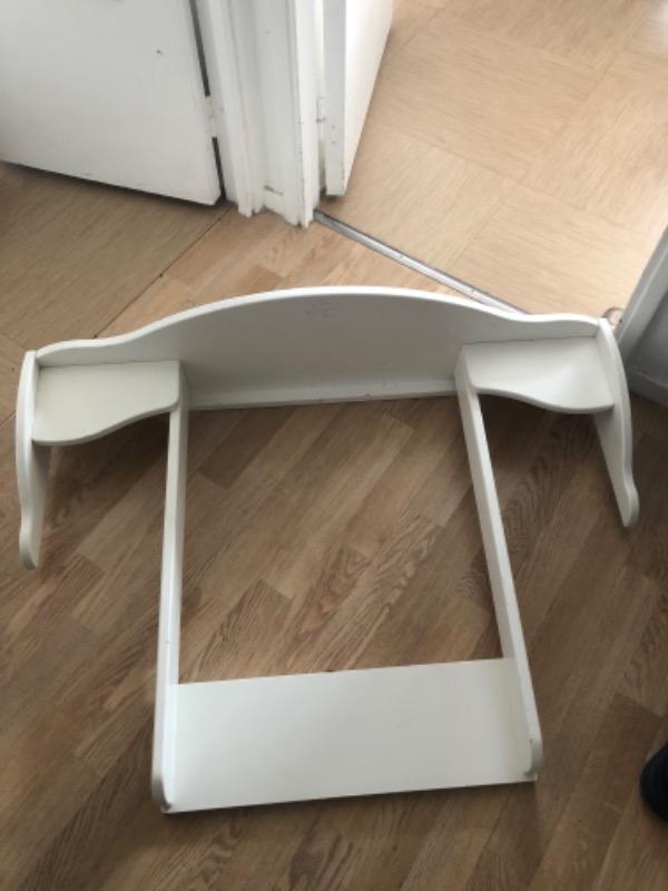 Recyclage, Récupe & Don d'objet : table à langer