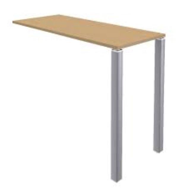 Recyclage, Récupe & Don d'objet : table de r?union haute lounge 2 pieds