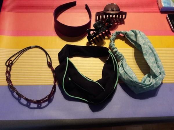 Recyclage, Récupe & Don d'objet : accesoires cheveux