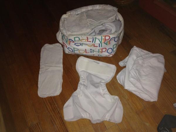 Recyclage, Récupe & Don d'objet : couches lavables popolini