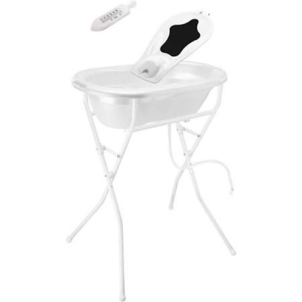 Recyclage, Récupe & Don d'objet : baignoire bébé rotho + pied
