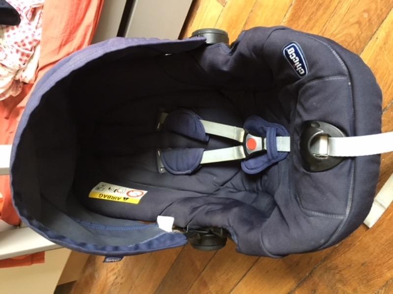 Recyclage, Récupe & Don d'objet : siège auto bébé