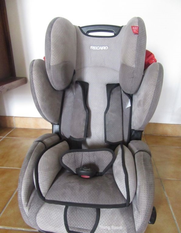 Recyclage, Récupe & Don d'objet :  siège auto recaro young sport