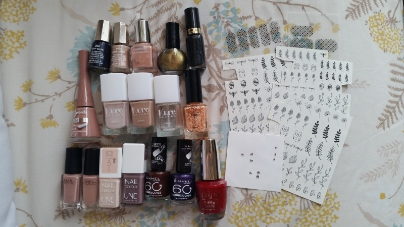 Recyclage, Récupe & Don d'objet : vernis à ongles et accessoires nail art