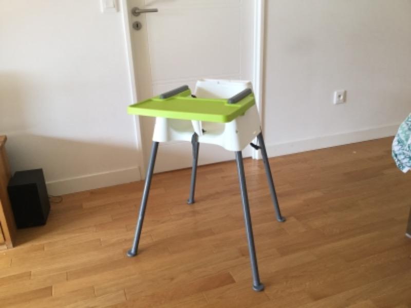 Recyclage, Récupe & Don d'objet : chaise haute beaba