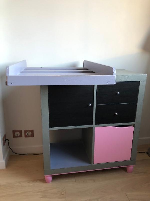 Recyclage, Récupe & Don d'objet : meuble à langer