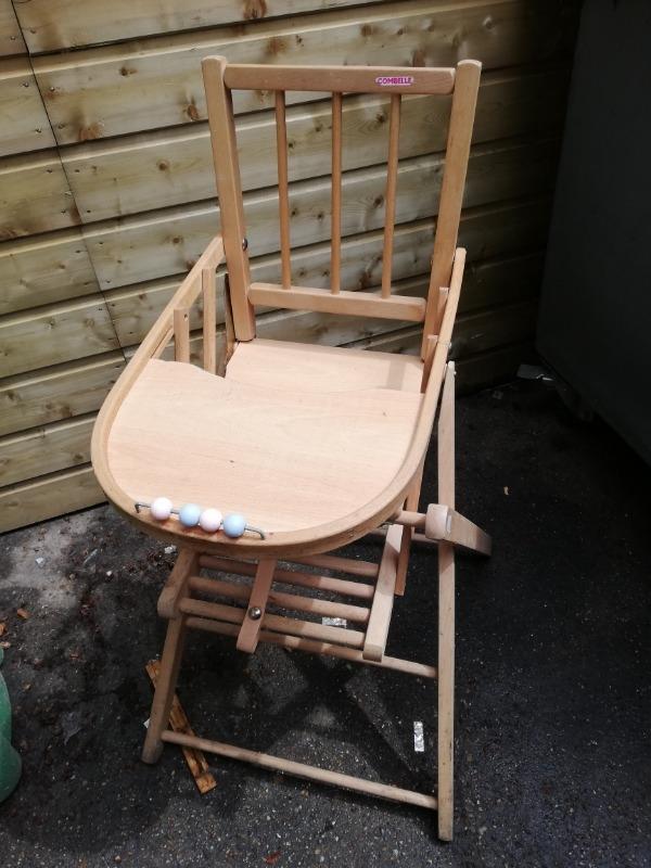 Recyclage, Récupe & Don d'objet : deux chaises bébé
