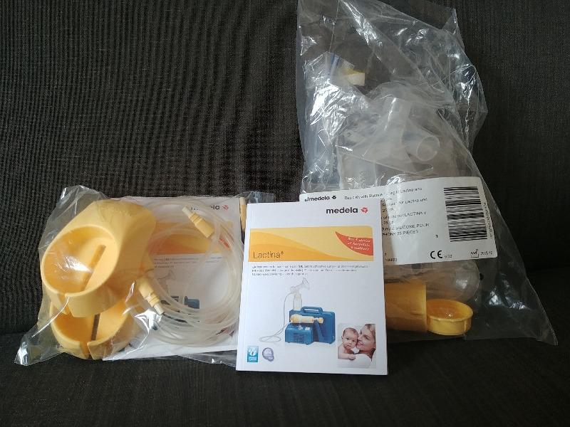 Recyclage, Récupe & Don d'objet : kit accessoires medela lactina