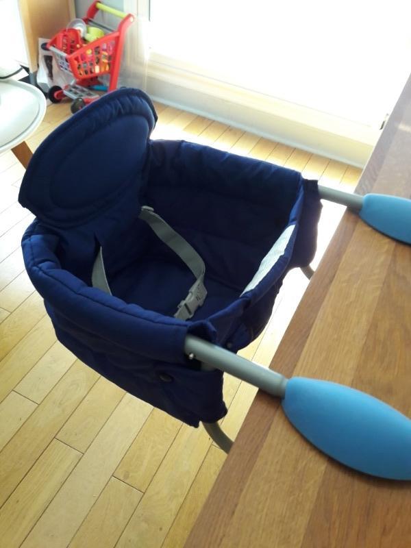 Recyclage, Récupe & Don d'objet : chaise haute bébé chicco transportable