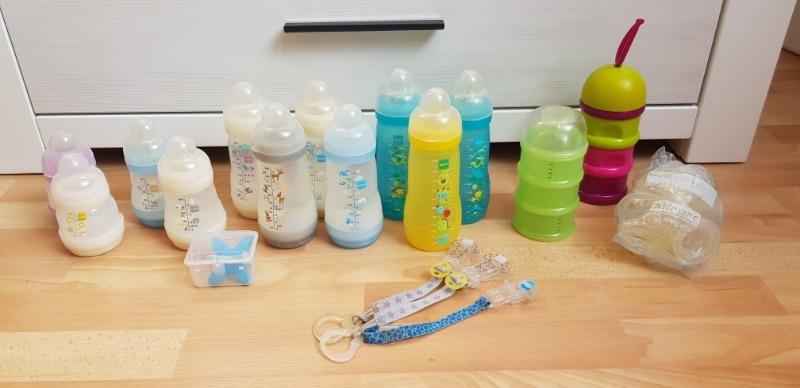 Recyclage, Récupe & Don d'objet : lot de biberons mam