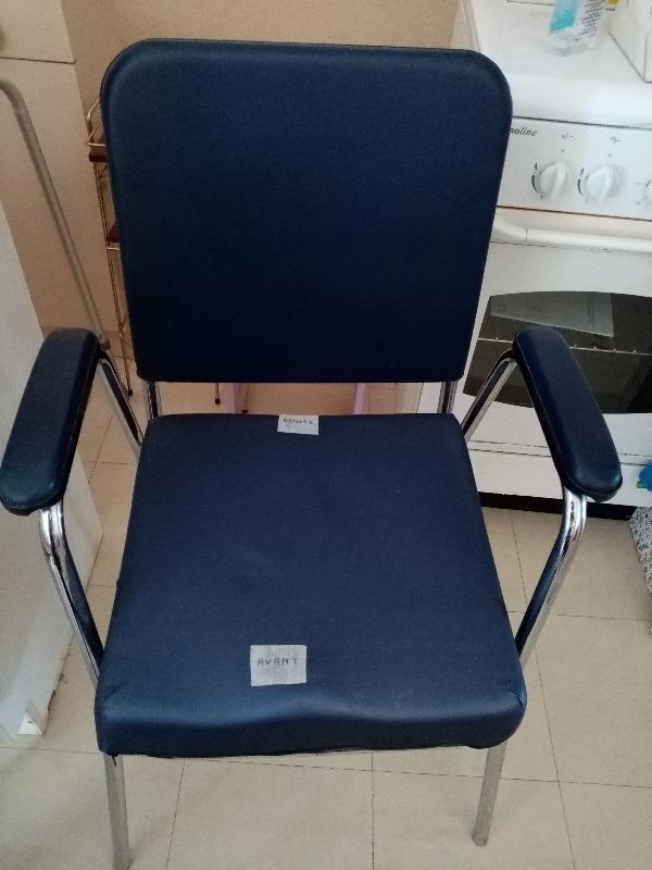 Recyclage, Récupe & Don d'objet : fauteuil avec cuvette wc