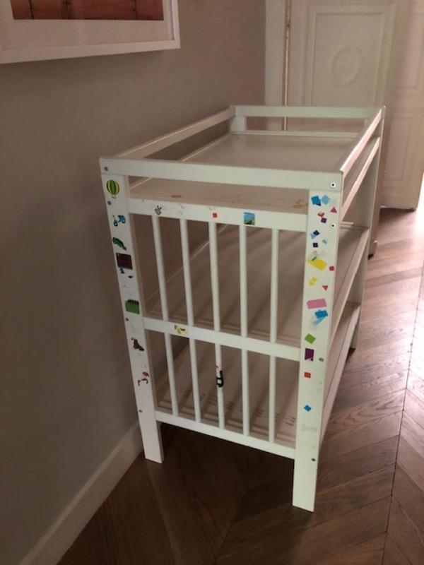 Recyclage, Récupe & Don d'objet : meuble et table à langer