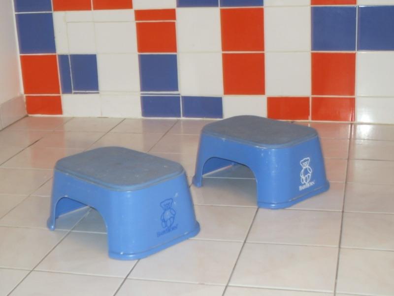 Recyclage, Récupe & Don d'objet : 2 marches pieds pour enfant