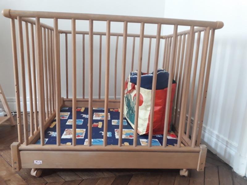 Recyclage, Récupe & Don d'objet : parc bébé