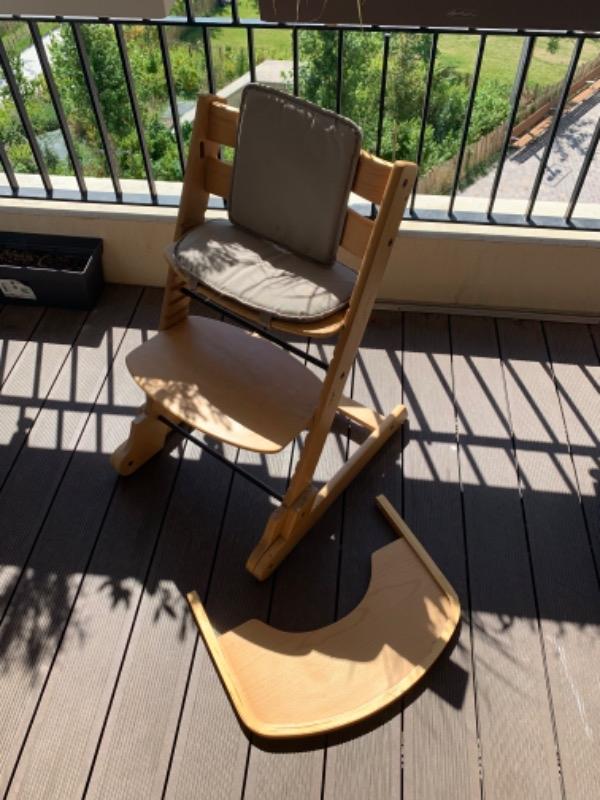Recyclage, Récupe & Don d'objet : chaise bébé évolutive