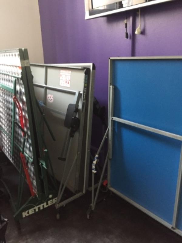 Recyclage, Récupe & Don d'objet : table de ping pong