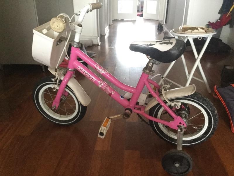 Recyclage, Récupe & Don d'objet : vélo enfant à roulettes