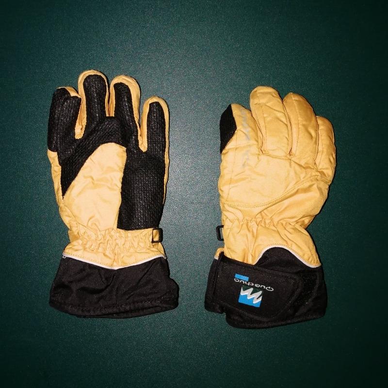 Recyclage, Récupe & Don d'objet : gant de ski 6 ans (jaune et noir) quechua ...