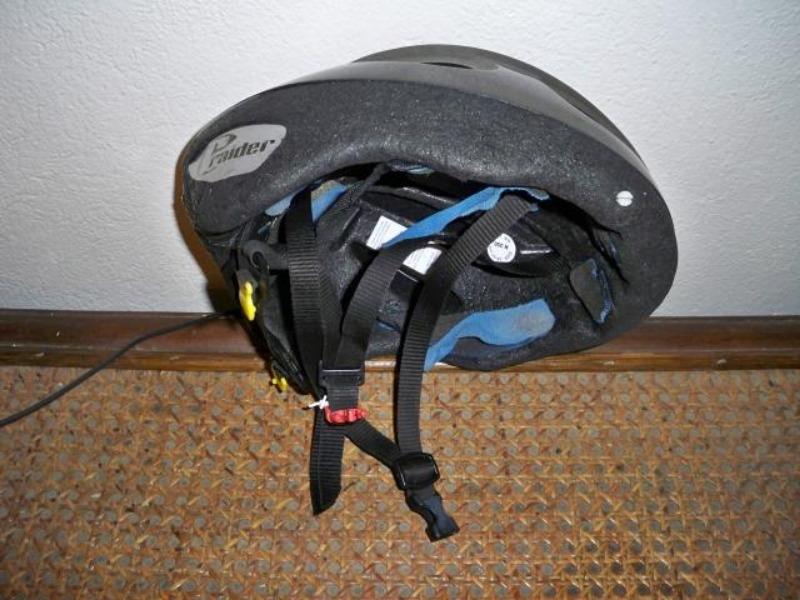 Recyclage, Récupe & Don d'objet : casque de cycliste, marque raider