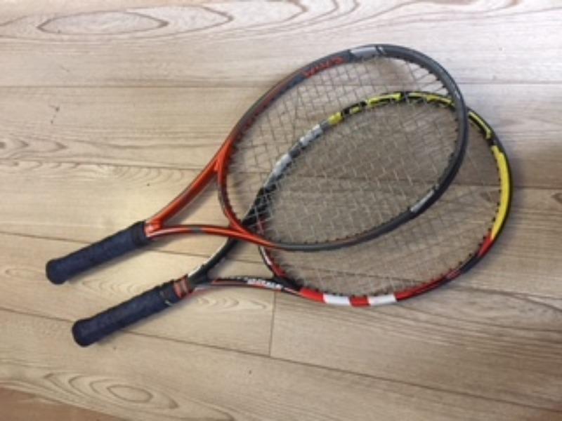 Recyclage, Récupe & Don d'objet : 2 raquettes de tennis