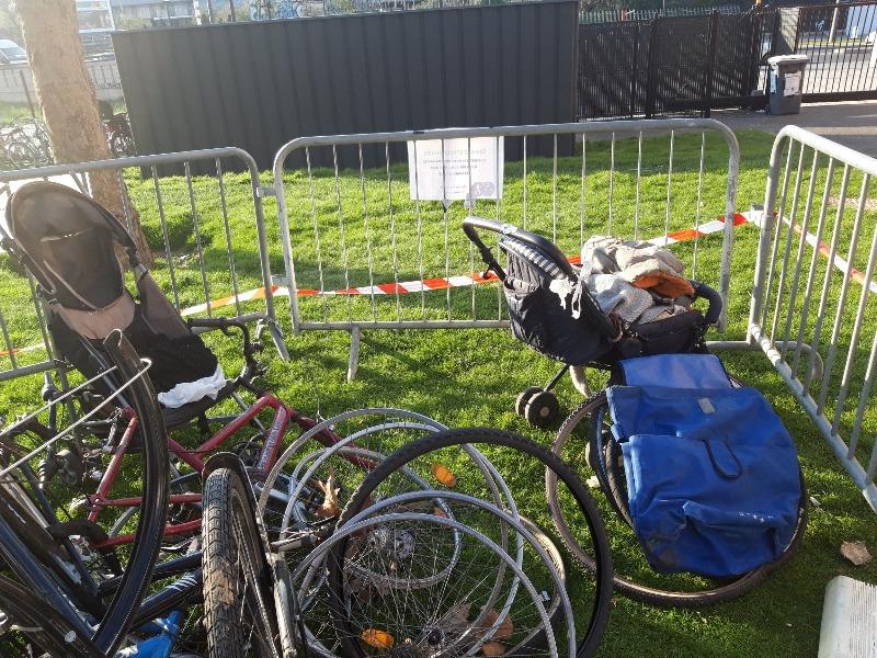 Recyclage, Récupe & Don d'objet : vélos et poussettes