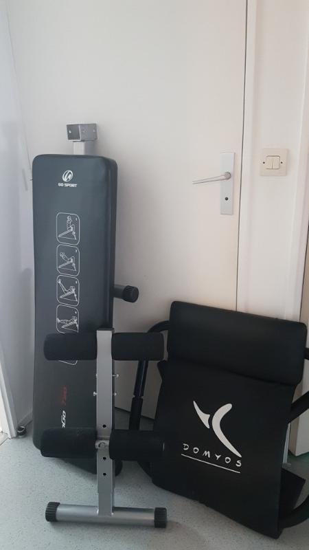 Recyclage, Récupe & Don d'objet : banc de musculation et abdo