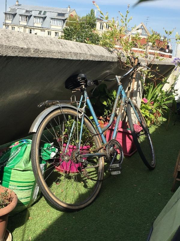 Recyclage, Récupe & Don d'objet : vieux vélo