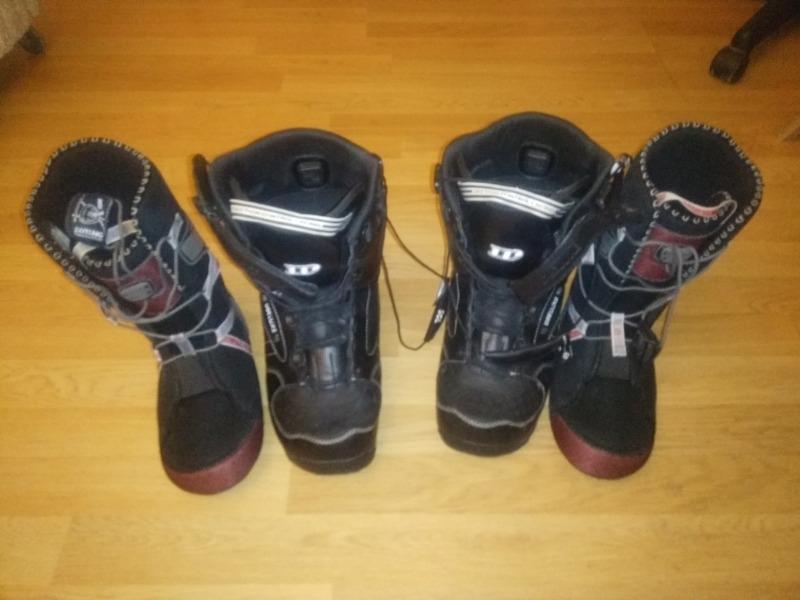 Recyclage, Récupe & Don d'objet : paire de botte de snow board nidecker tail...