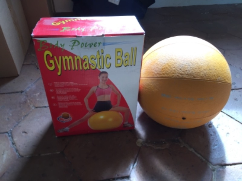 Recyclage, Récupe & Don d'objet : gymnastic ball + medicine ball