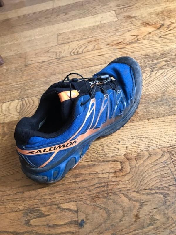 Recyclage, Récupe & Don d'objet : chaussures de trail salomon 44