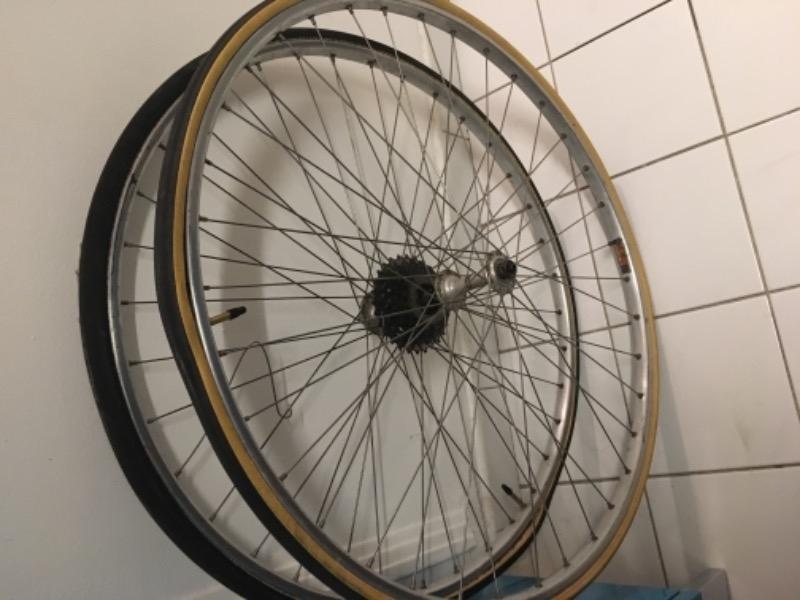 Recyclage, Récupe & Don d'objet : roues mavic
