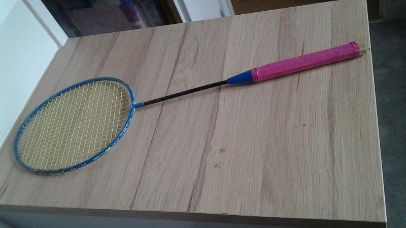 Recyclage, Récupe & Don d'objet : raquette de badminton