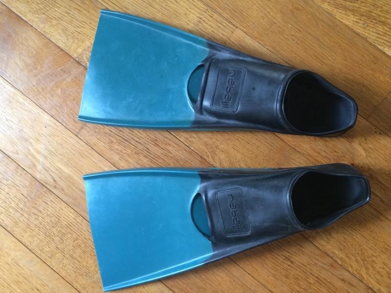 Recyclage, Récupe & Don d'objet : palmes de natation