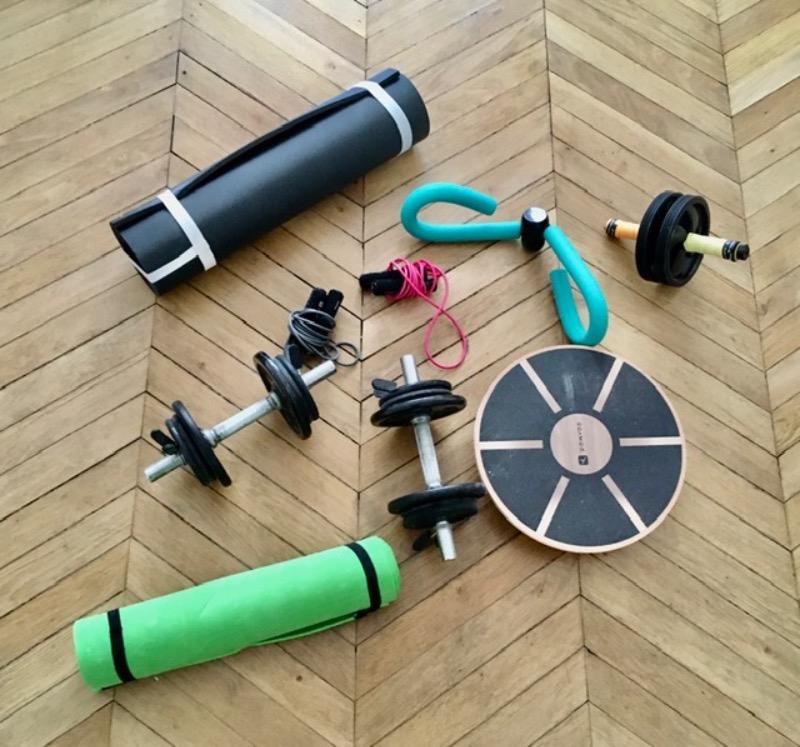 Recyclage, Récupe & Don d'objet : set de sport