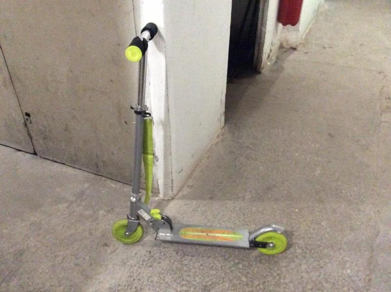 Recyclage, Récupe & Don d'objet : trottinette 2 roues enfant