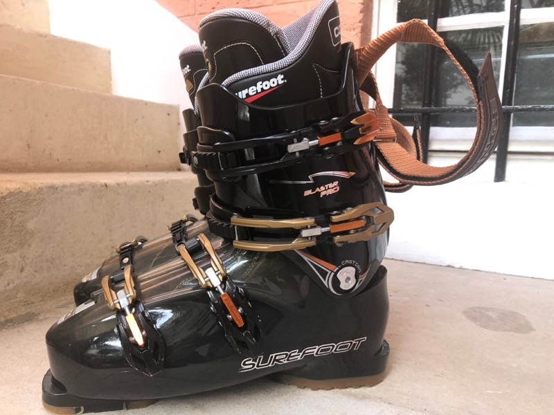 Recyclage, Récupe & Don d'objet : chaussures de ski homme
