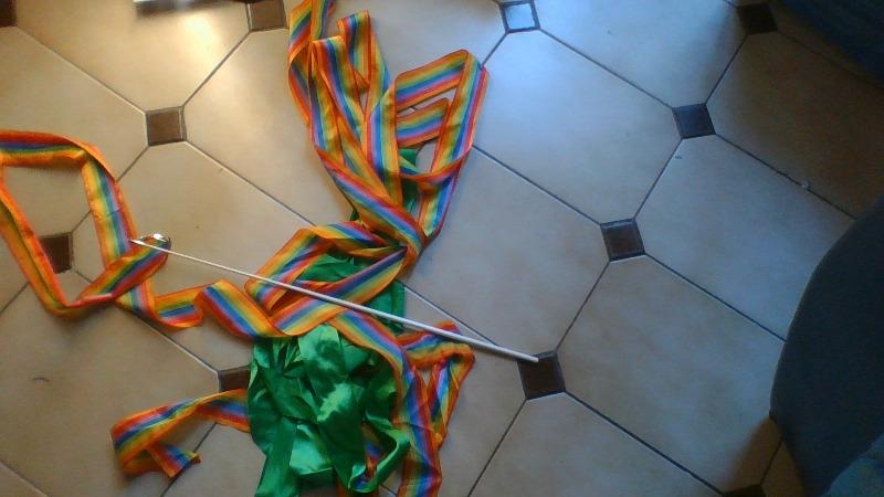 Recyclage, Récupe & Don d'objet : rubans gymnastique
