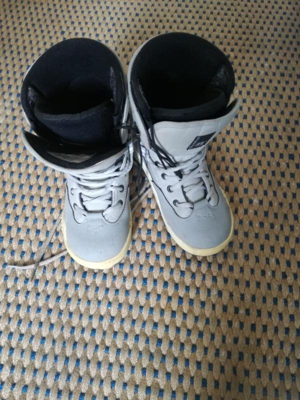 Recyclage, Récupe & Don d'objet : chaussures de snowboard t 38-39 femme