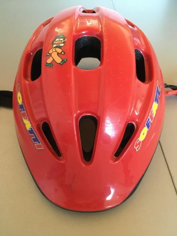 Recyclage, Récupe & Don d'objet : casque à vélo enfant