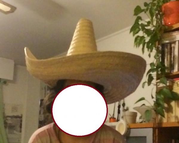 Recyclage, Récupe & Don d'objet : un sombrero adulte