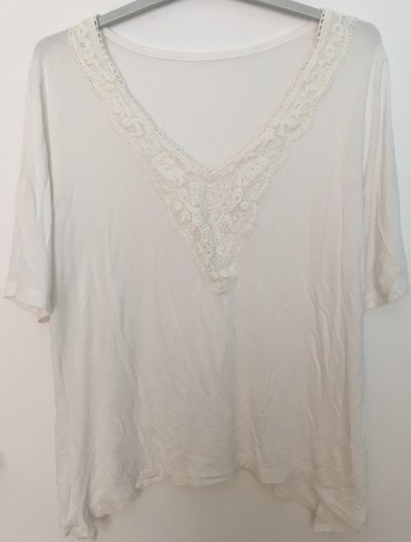 Recyclage, Récupe & Don d'objet : 1 tee-shirt femme 42/44
