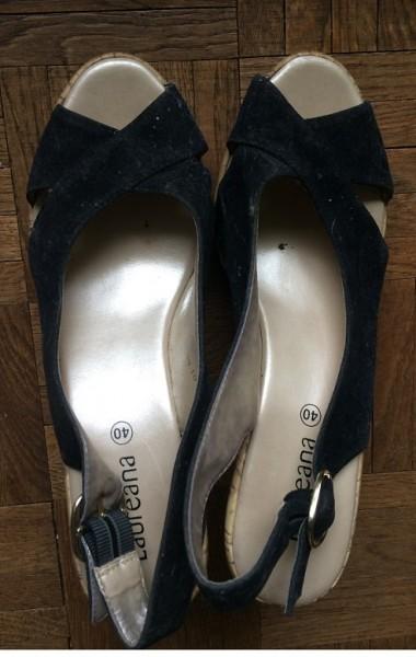 Recyclage, Récupe & Don d'objet : chaussures compensée liège laurena 40