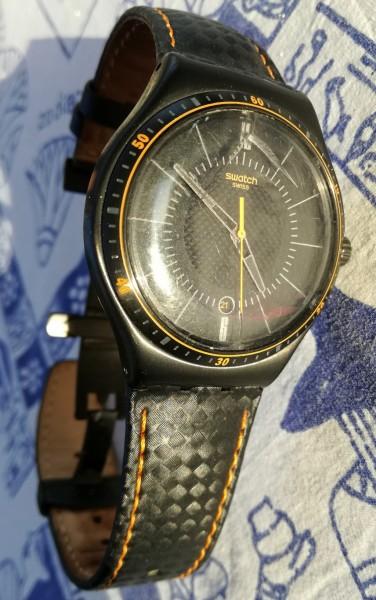 Recyclage, Récupe & Don d'objet : montre swatch