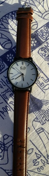 Recyclage, Récupe & Don d'objet : montre giorgio & dario