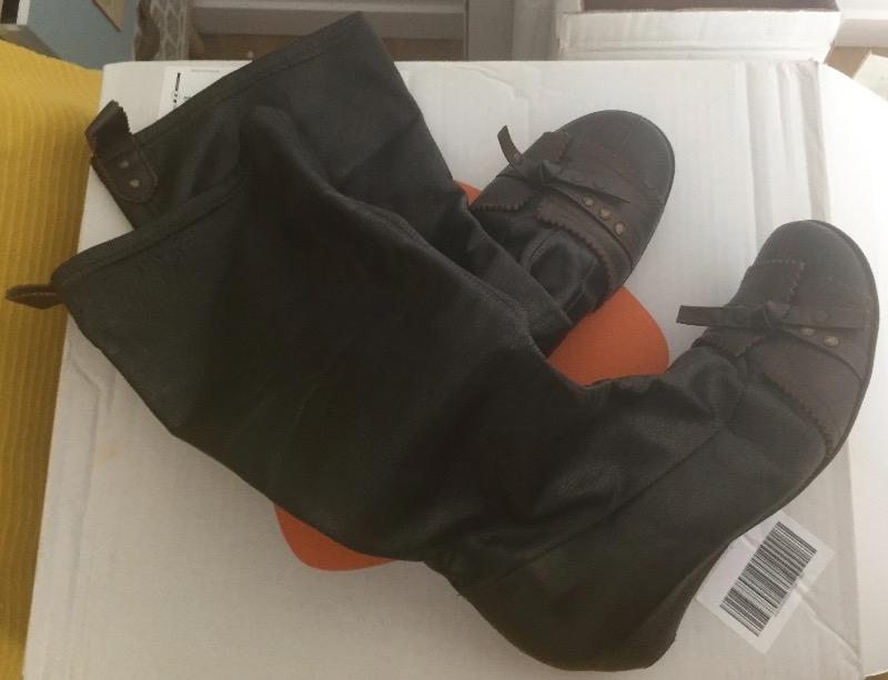 Recyclage, Récupe & Don d'objet : bottes à enfiler pointure 38