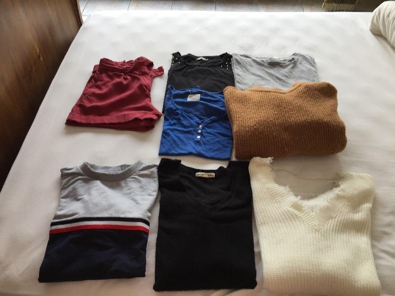 Recyclage, Récupe & Don d'objet : divers vêtements