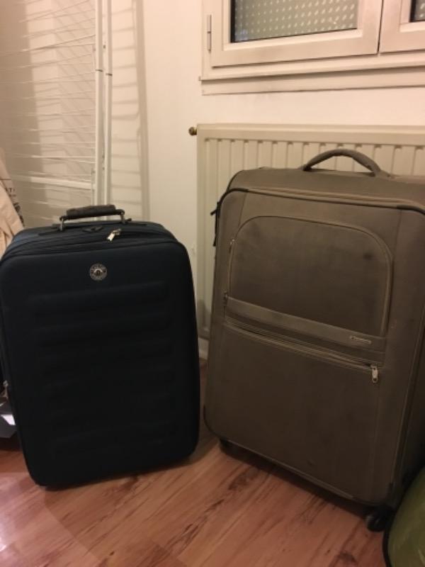 Recyclage, Récupe & Don d'objet : deux grandes valises